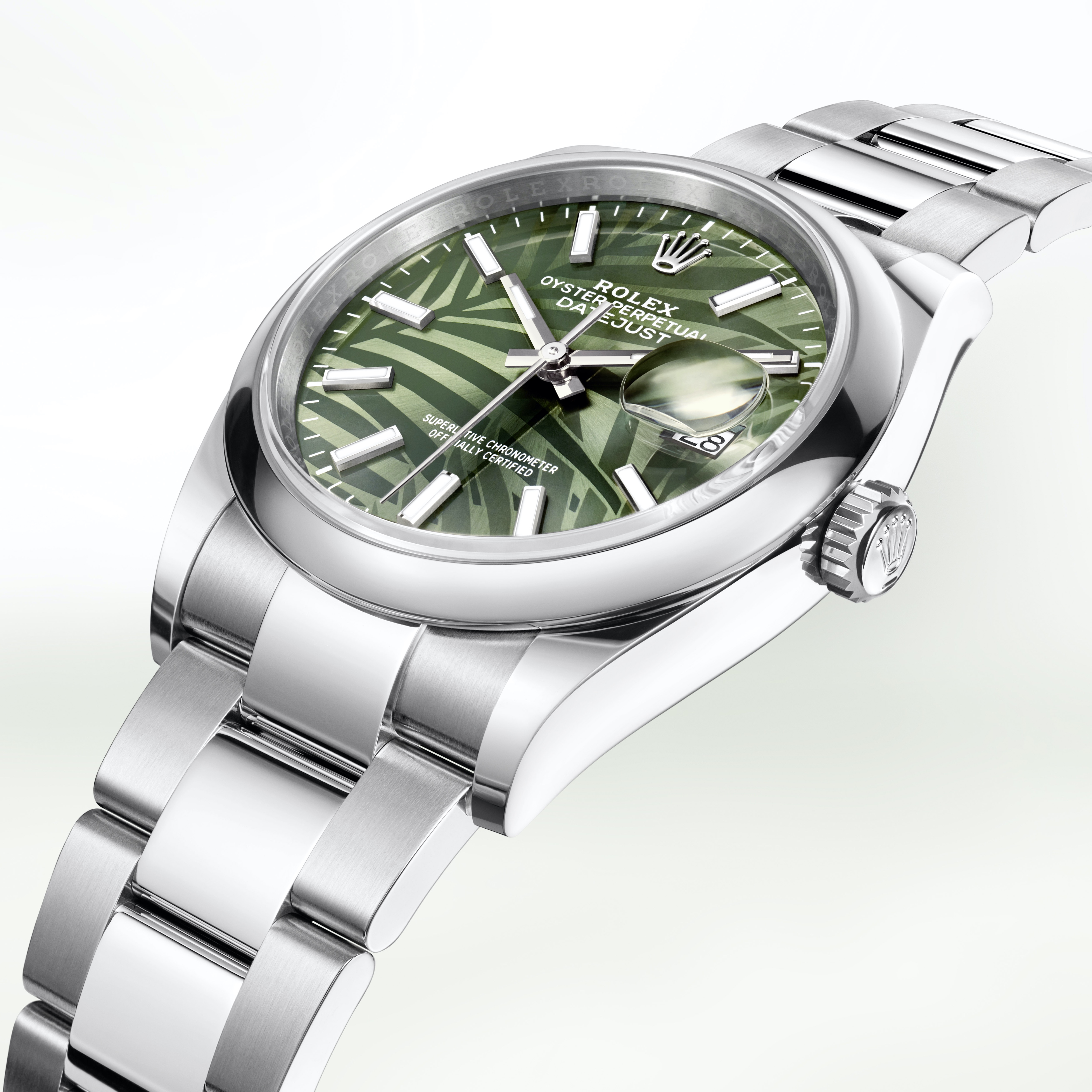 Oyster Perpetual Datejust 36 - Palm Motif