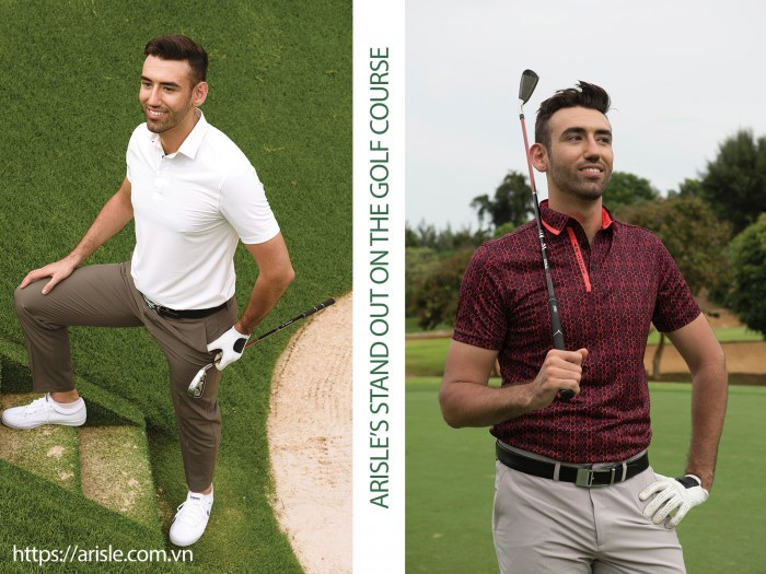 Arisle spring & summer golf collection