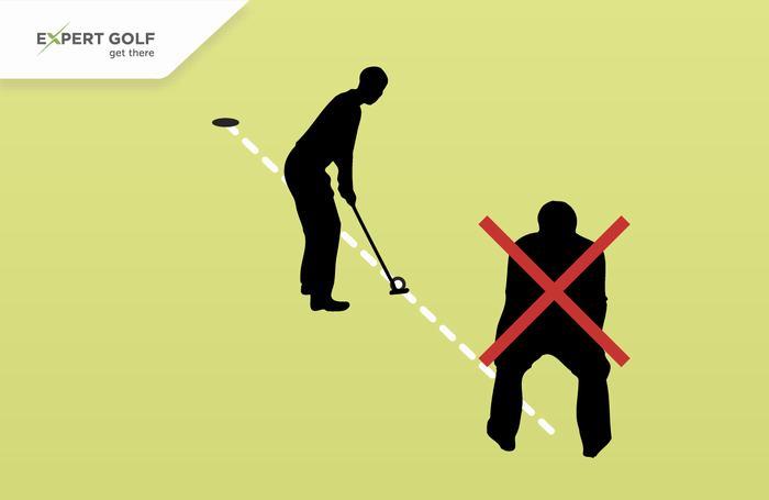 Caddie không được chỉnh line giúp người chơi (Luật 10)
