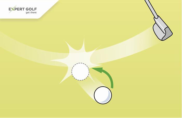 Bóng trên green vô tình di chuyển do người chơi