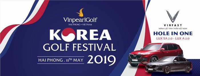 Golf thủ Hàn Quốc hào hứng tới tranh tài tại Vinpearl Golf – Korea Golf Festival 2019