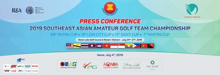 Họp báo công bố Cup Vô địch Đồng đội nghiệp dư Đông Nam Á 2019