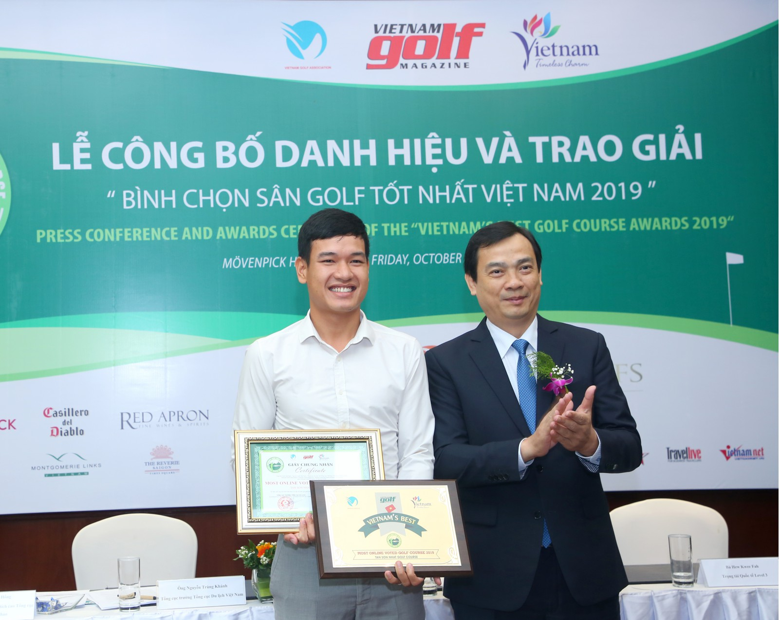 MOST ONLINE VOTED GOLF COURSE 2019 - Tan Son Nhat Golf Course