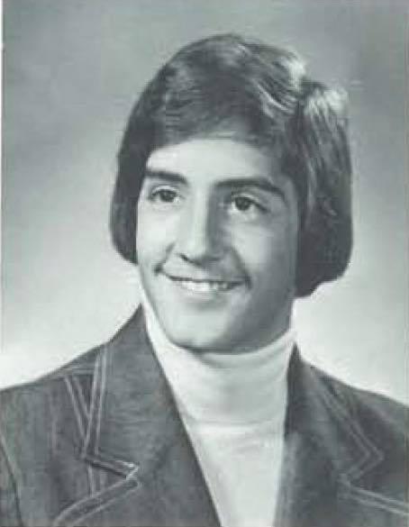 Robert Bicknell in college