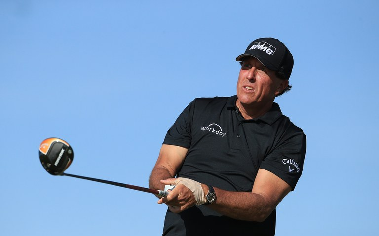 Phil Mickelson. (Ảnh: Getty Images)