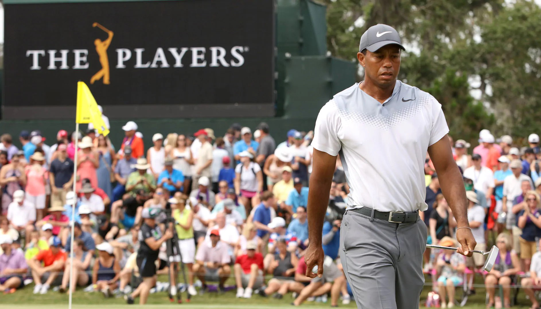 Tiger Woods tại The Players Championship 2020. (Ảnh: Getty Images)