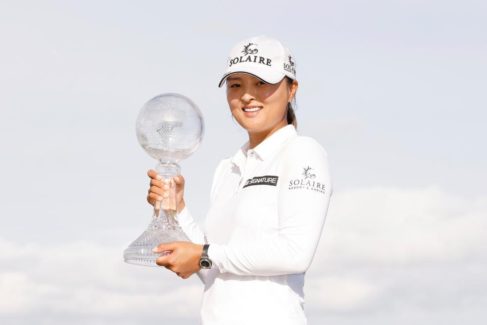 Golfer số 1 thế giới Jin Young Ko