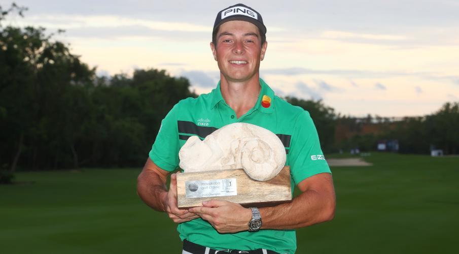 Viktor Hovland giành 1.296 triệu đô-la cho chức vô địch