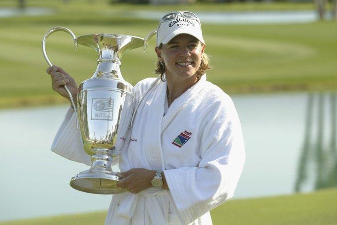 Annika Sorenstam được mệnh danh là nữ golfer gạo cội của thế giới .