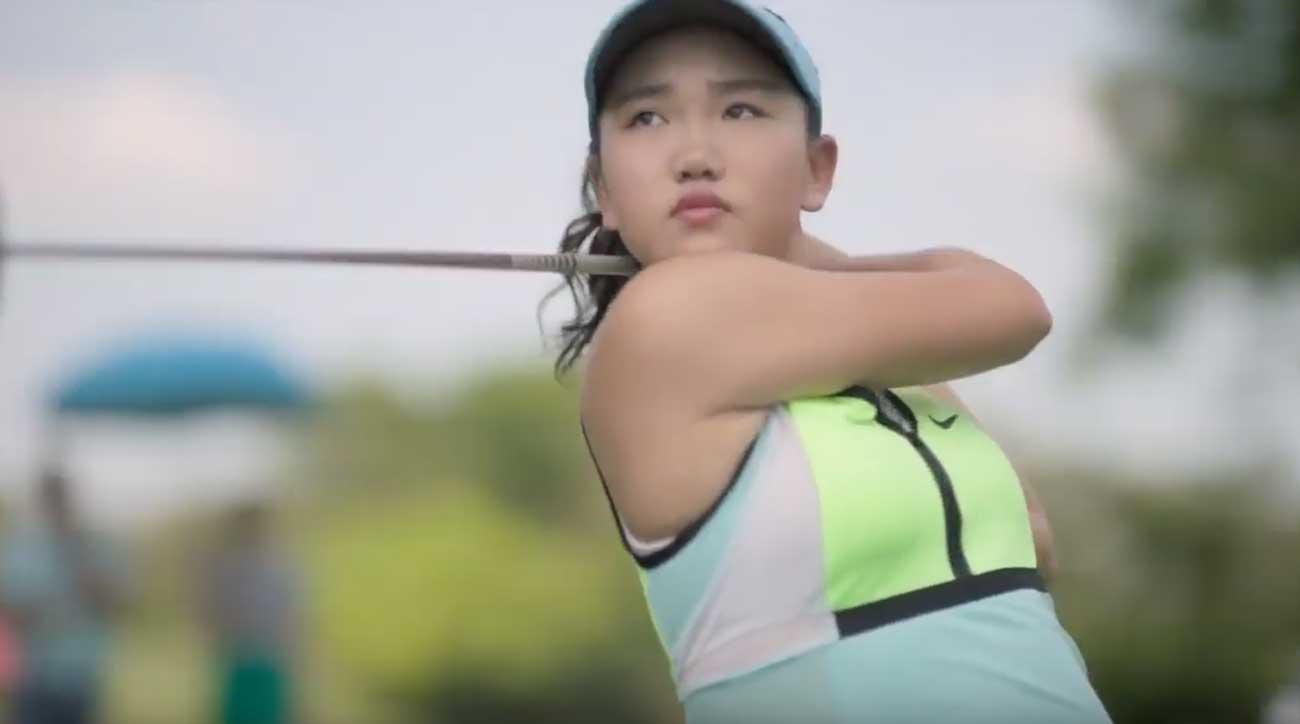 Nữ golfer Lucy Li. Nguồn: Golf.com